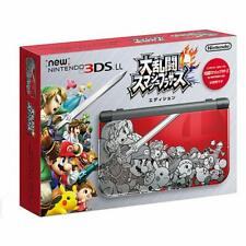 NEW Nintendo 3DS LL XL Super Smash Brothers Limited Edition Console Japan