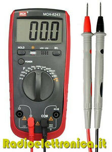 Inductance and Capacitance Multimeter MCH-6243
