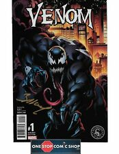 Venom #1 SCORPION COMICS VARIANT signed by Mark Bagley NM MOVIE SOON