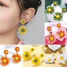 2020 Fashion Long Daisy Flower Earrings Women Ear Stud Drop Dangle Gift Jewelry