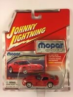 Johnny Lightning Mopar Or No Car 1998 Dodge Viper GTS Red Die-cast 1/64 Scale
