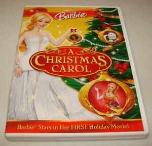 Barbie in a Christmas Carol (DVD, 2008) Excellent Condition