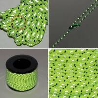 4mm Reflective Guyline Outdoor Camping Tent Rope Runners Guy Line Cord Paracord