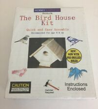 HOBBY EXPRESS 60002 THE BIRD HOUSE  KIT PRE-DRILLED HOLES NEW NIB