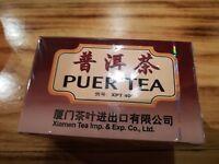 Puer Tea Bags Diet Aid Weight Loss Slimming Sea Dyke Puerh Pu-erh Chinese