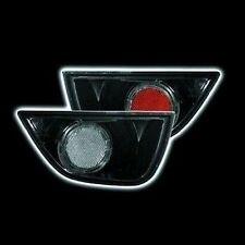 Ford Focus 98-08 Black Smoked Lexus Style Rear Fog And Reverse Lights Lamps