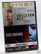 2 HORROR FILMS - The Skeleton Key + The Grudge DVD Region 2 NEW SEALED