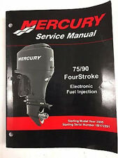 Mercury Mariner Service Shop Repair Manual 75/90 Efi 4 Stroke 90-897725
