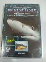 Predators Serie TV Tiburones Orcas Pitones 3 x DVD Region 2 Español Ingles - 3T