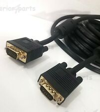 C&E Premium Standard 15 Pin SVGA VGA Male to Male Extension Cable 6 Feet - NEW