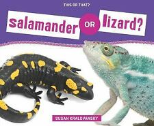 Salamander or Lizard? (This or That?)-ExLibrary