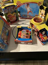 Huge Disney Mickey Mouse Toddler Toy Lot New Electronic Book Cd Player 6pc