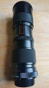 Vivitar 85-205mm f3.8 Close Focus Lens for Nikon Non Ai F & Pentax