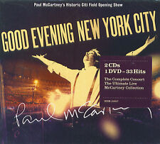 Paul McCartney : Good Evening New York City (2 CD + DVD)