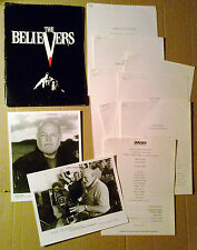 Press kit~ THE BELIEVERS ~Martin Sheen ~Helen Shaver ~Jimmy Smits~Harley Cross