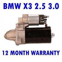 BMW X3 2.5 3.0 2004 2005 2006 2007 2008 2009 2010 - 2015 Anlasser