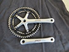 CAMPAGNOLO RECORD 10 SPEED CRANK SET 177.5 TISO 42/53 ROAD RACING  BICYCLE