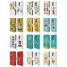 Fundas y carcasas Para LG G2 de piel para teléfonos móviles y PDAs Head Case Designs