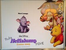 Cinema Poster: POOH'S HEFFALUMP MOVIE 2005 (Quad) Brenda Blethyn