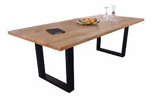 Massivholztisch Eiche Esstisch 180x100 200x100 220x100 Holztisch Tisch Neu OVP