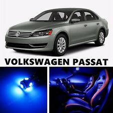12pcs LED Blue Light Interior Package Kit for VOLKSWAGEN PASSAT
