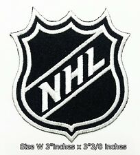 NHL Hockey (Black/White)Sport Patch Logo Embroidery Iron,Sewing on clothes