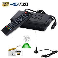 FTA ISDB-T HD Digital Terrestrial Convertor TV BOX Receiver PVR + 5dBi Antenna