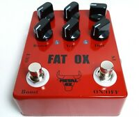 "METAL OX, OXP-101 ""Fat Ox"" Heavy Metal Distortion Guitar Effect Pedal"