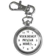 New Personalized Custom Logo Design Photo Key Chain Watch Free shipping