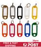 20Pcs Plastic Luggage Key Tags ID Tags Key Rings Key Tag Key Chains Key Fob
