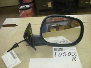 DODGE DURANGO Passenger Right Door Mirror Power; folding (6x9), w/heated,  99 00