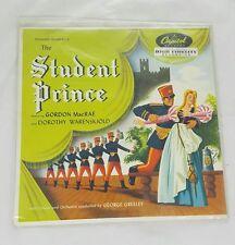 "LP -record -The Student Prince Operetta Series Capitol Records 10"" #L407"