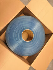 PVC plastic door strips curtain Roll 200mm/2mm/Ribbed 50m Roll