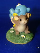 Charming Tails Teeny Tiny Tails The Big Winner Mouse Figurine w/ box