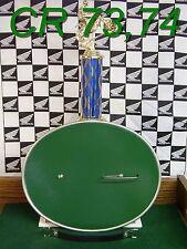 Oval,Number,Plate,1973-74,CR250m,CR125m,Honda,Elsinore,Vintage,Front,Board,VMX!!