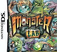Monster Lab (Nintendo DS) Lite Dsi xl 2ds 3ds xl