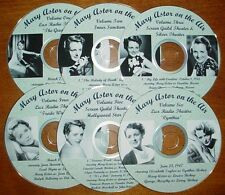 MARY ASTOR on the air - Vintage Radio Shows OTR-CDs - Set 1 - NEW!