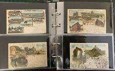 Ansichtskarten-Lithografien-109 Karten-Gruss Karten-1897 bis 1908-Art. 5827
