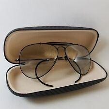 "Vintage 1970""s B&L Ray Ban Aviator Outdoorsman 58mm with Grey Photochromic Lens"