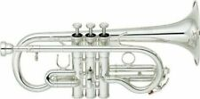 Yamaha Neo Series Cornet EB Ycr-8620s Silver-plated W/ Case Tracking EMS