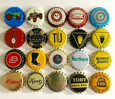 20 Diff Unused Beer Bottle caps ~ Micro Brewery Beer Crowns ~ Uncrimped Caps