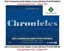 Najee Harris 2021 Chronicles Draft Picks 3 Case 48 Box PLAYER BREAK