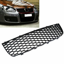 Black Front Bumper Lower Center Grille Cover for VW Jetta GTI Golf 5 Bora 04-09