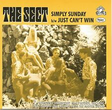 "Arizona Garage Fuzz THE SECT ""Simply Sunday"" b/w ""Just Can't Win"" Mono/Stereo M-"