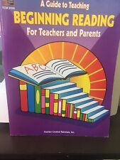 A Guide To Teaching Beginning Reading For Teachers And Parents By Tcm