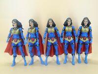 "lot of 5 DC Universe Classics   Wave 7 Big Barda action figure loose 6"" #e3"