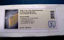 Helm 73 GARNITUR für Holzschiebetüren Türstärke ab 20mm Rollapparat NEU OVP
