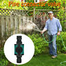 Lawn Irrigation Hose Pipe Connector Garden Water Adapter Repair Quick Fitting AU