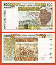 P110Am    West African States   IVORY-COST   500 Franc   2002 UNC
