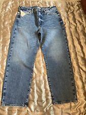 River Island Blue Blair high rise straight jeans  Size 14 R Bnwt